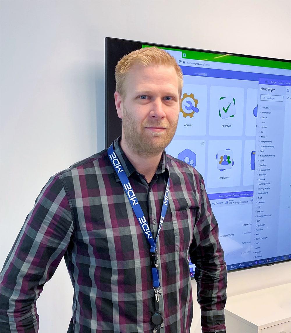 Morten Alver, CDO hos MDE Sigma