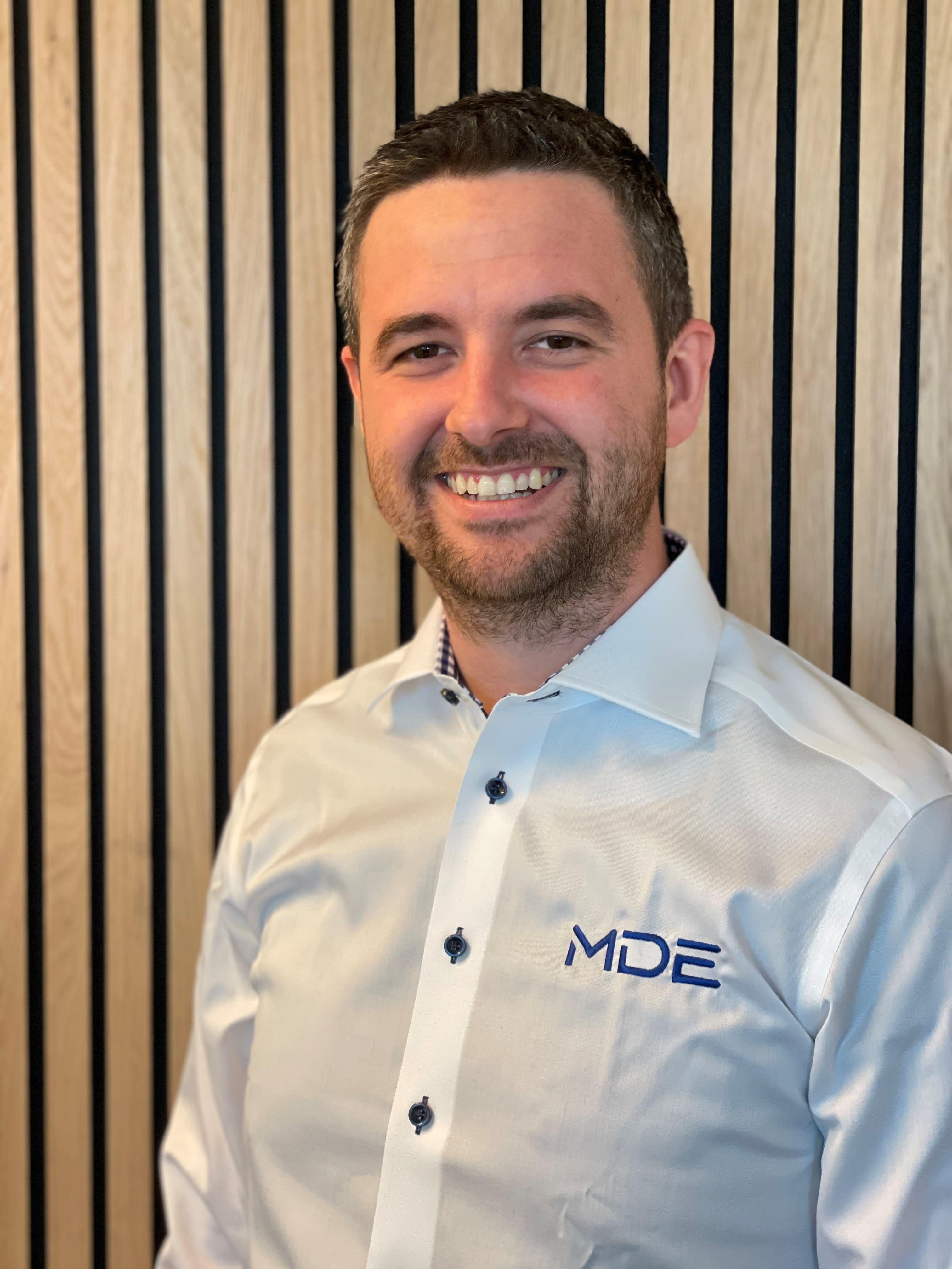 Christian Fredrik Thomas, controller hos MDE Sigma