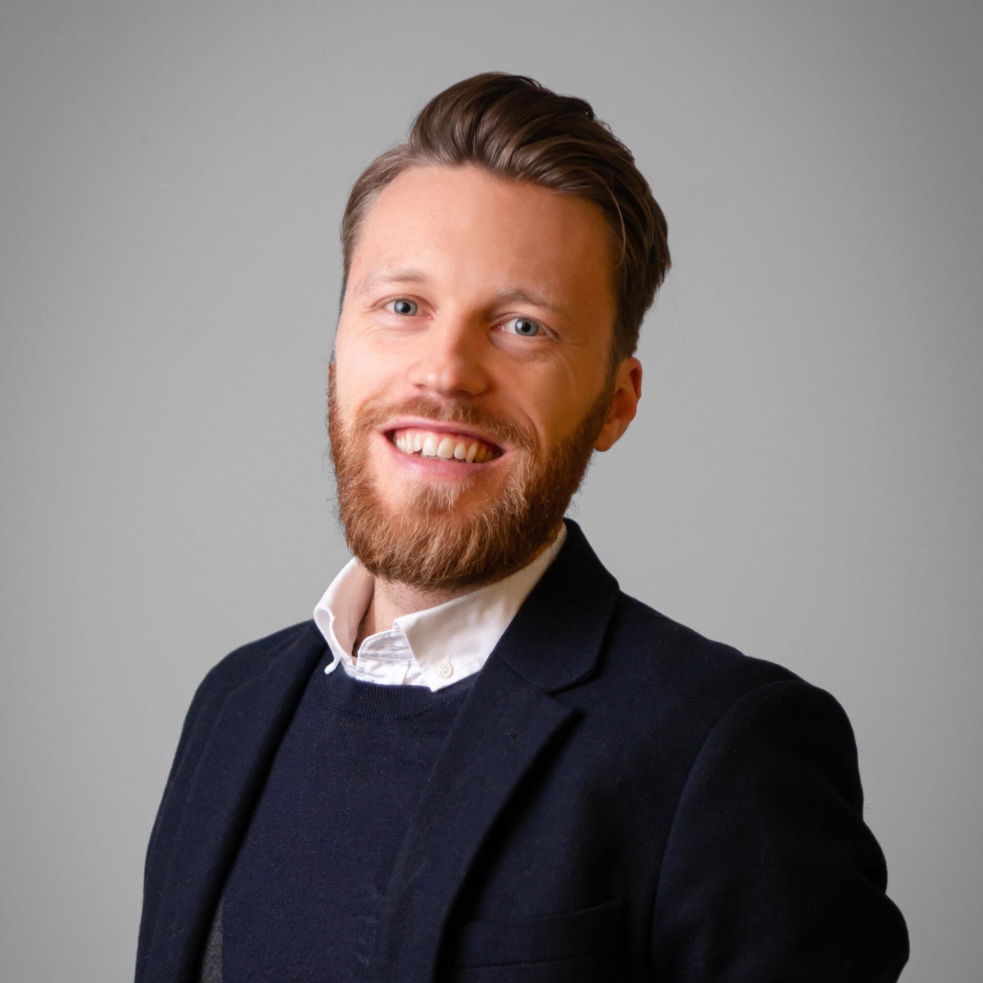 Mats Brandt, recruiter ved MDE i Bergen